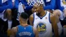 Kevin Durant doubles down on non-feud with Russell Westbrook 'like' fiasco