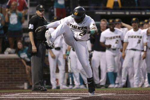 Mizzou wins to sweep season baseball series with Missouri State