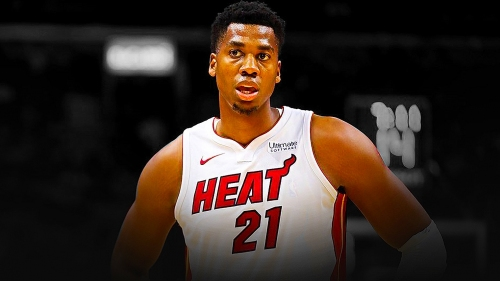 "Hassan Whiteside on his performance against the Sixers: ""At least give me a chance"""