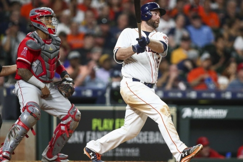 Angels Outpunch the Astros. Win on Points, 8-7