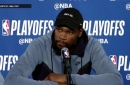 Draymond Green and Kevin Durant on next opponent, Pelicans | Warriors Eliminate Spurs