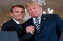 Formalidades aparte, varios asuntos separan a Trump y Macron