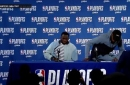 Draymond Green and Kevin Durant Press conference | Warriors Eliminate Spurs