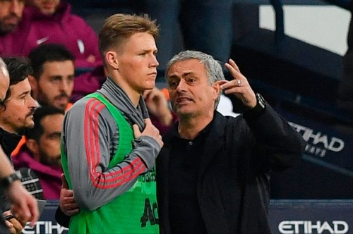 Manchester United manager Jose Mourinho told Scott McTominay how to cope with club stars