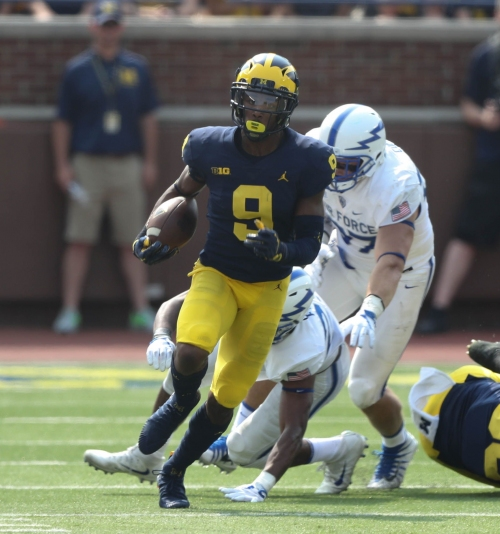 Michigan football's Donovan Peoples-Jones settling in as punt returner