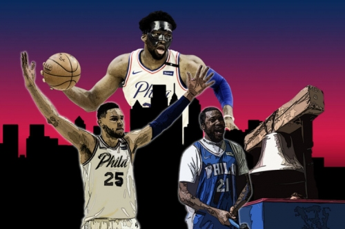 The Philadelphia 76ers hit fast-forward on Step 2 of the Process