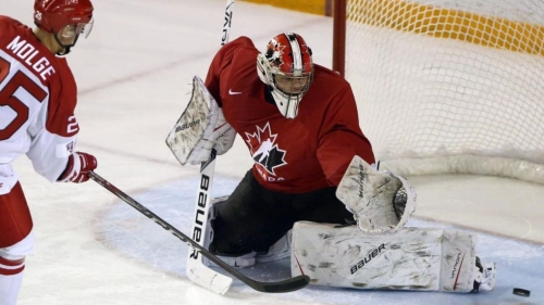 Michael DiPietro joins Team Canada for World Championship; will he play?