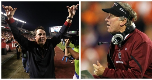 Hayden Hurst reveals key things at South Carolina that 'changed dramatically' under Will Muschamp after Steve Spurrier left