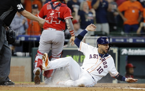 Angels' road winning streak snapped by Justin Verlander, Astros