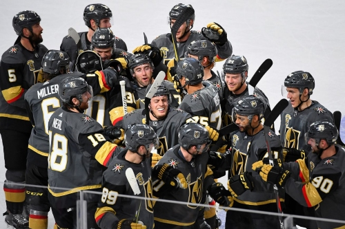 A look back at the second half of the Golden Knights' incredible season