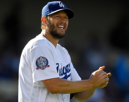 Clayton Kershaw takes a rare walk on the wild side in Dodgers' loss to Marlins