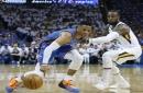 Westbrook scores 45; Thunder beat Jazz to avoid elimination