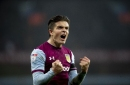 Jack Grealish accepted his Aston Villa award with a cheeky reference to Birmingham City