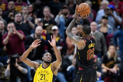 'Game.' Why that viral Cavaliers fan knew LeBron James' buzzer beater was money