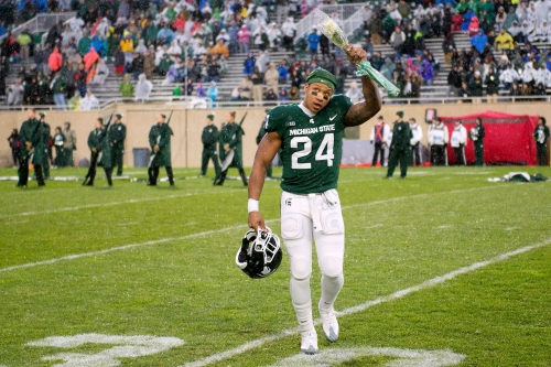 Michigan State football's Gerald Holmes hoping for chance in NFL
