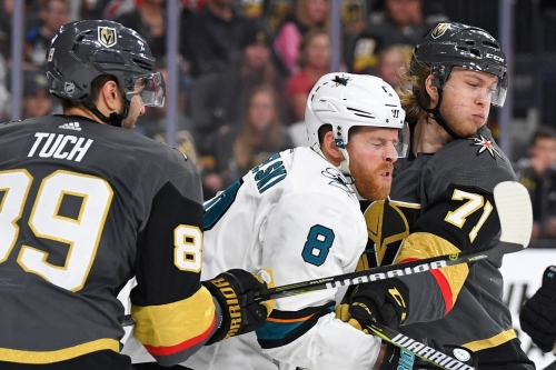 Sharks at Golden Knights: Lines, gamethread, and where to watch