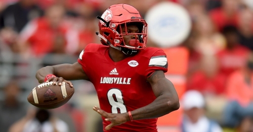 2018 NFL Draft: Baltimore Ravens draft Louisville's Lamar Jackson in first round