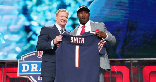 Georgia LB Roquan Smith show Chicago Bears fans how much he cares