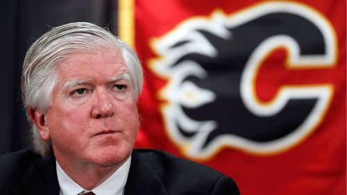 Burke happy to walk away from Flames after getting job done
