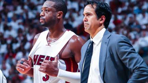 Erik Spoelstra not yet ready to have a conversation with Dwyane Wade