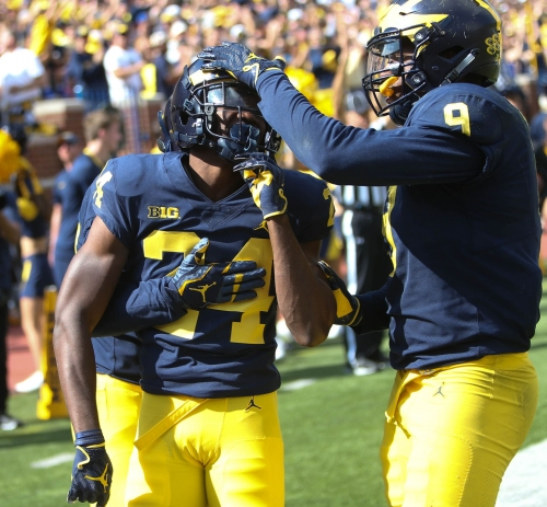 Michigan football's Lavert Hill finishes spring healthy