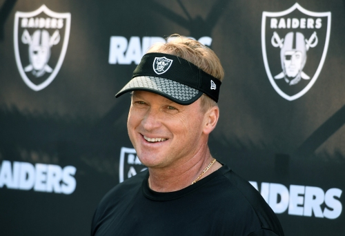 Raiders trade 41st pick to Titans for Nos. 57 and 89