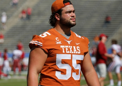 Staying home: former Longhorns' offensive lineman Connor Williams selected by Cowboys in second round