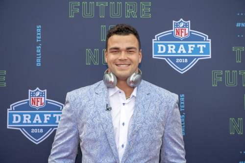 WATCH: Connor Williams reacts to being drafted by the hometown Dallas Cowboys