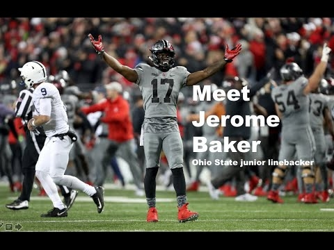 Jerome Baker drafted by the Miami Dolphins in the third round, No. 73 overall in the 2018 NFL Draft