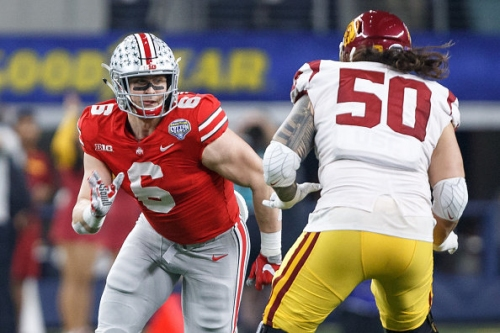 Sam Hubbard drafted by Cincinnati Bengals in the third round, No. 77 overall in 2018 NFL Draft