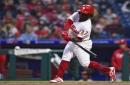 Herrera hits 2 HRs, Nola goes 7 as Phillies top Braves