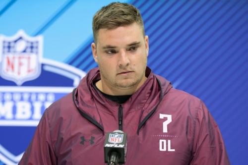 NFL draft TV reactions: Michigan's Mason Cole 'efficient,' 'not dominant'