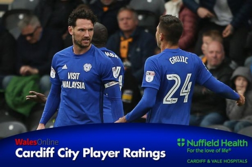 The Cardiff City player ratings as Liverpool loanee Marko Grujic suffers while Sean Morrison steals the show at Hull City