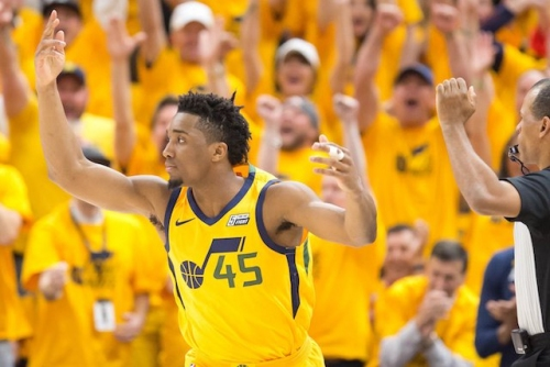 Donovan Mitchell Joins Magic Johnson, Other Lakers Legends In History Books After Series Clinching Performance In Playoffs