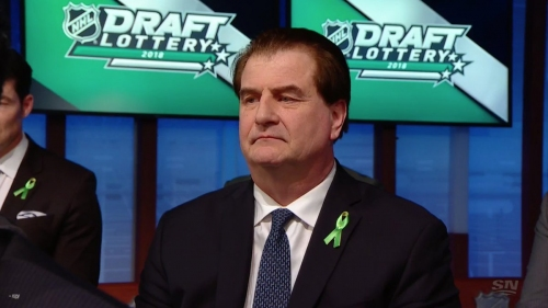 The Canucks fall to seventh overall in the NHL draft lottery, which is fine