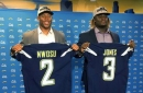 Chargers add depth throughout lineup in productive NFL draft