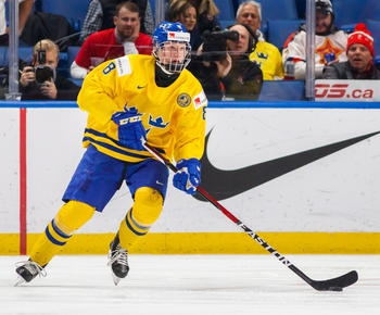 Sabres follow last place-finish by landing No. 1 draft pick