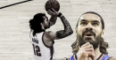 Steven Adams' funny reaction to possibly adding 3-point shot to his arsenal