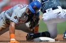 Mets trounce Padres, 14-2, but Yoenis Cespedes suffers sore left thumb