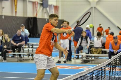 Illinois Men's Tennis fall short of Big Ten Championship