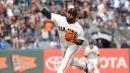 Jackson, Cueto help Giants split doubleheader; Panda pitches | The Tribune