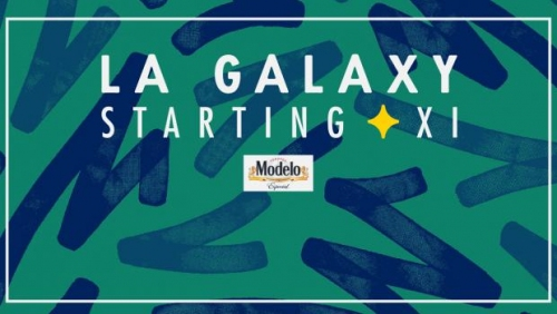 Starting XI presented by Modelo: LA Galaxy vs. New York Red Bulls | April 28, 2018