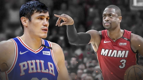 Dwyane Wade responds to Sixers' Ersan Ilyasova taking jab at Miami Heat fans