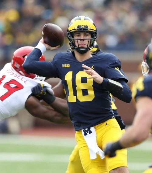 Shea Patterson's job to lose? Michigan football QBs won't back down