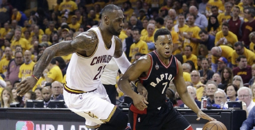 Raptors determined to take LeBron James' throne
