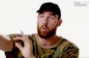 Travis Kelce shares the story of that time he threw a pass in hilarious fashion