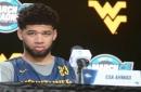 Ahmad Announces He's Returning To WVU For His Senior Season