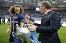 David Luiz backing Laurent Blanc to replace Antonio Conte as Chelsea manager
