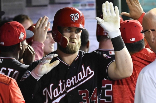 "Bryce Harper, Davey Martinez on making Harper the Nats' leadoff hitter: ""Why not?"""