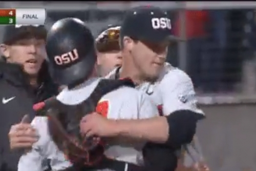 Recap: Oregon State Baseball Battles Back To Beat Oregon In Non-League Play